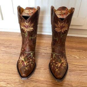 Old Gringo Ellie Floral Boots - Ladies 10.5 - New